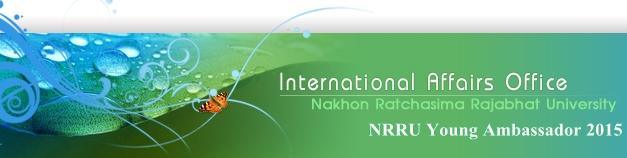NRRU Young Ambassador 2015